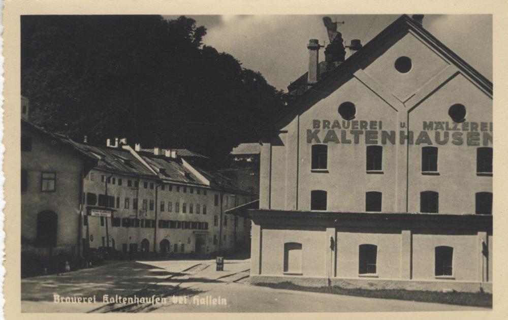 Historische Ansicht von Kaltenhausen (c) Keltenmuseum Hallein