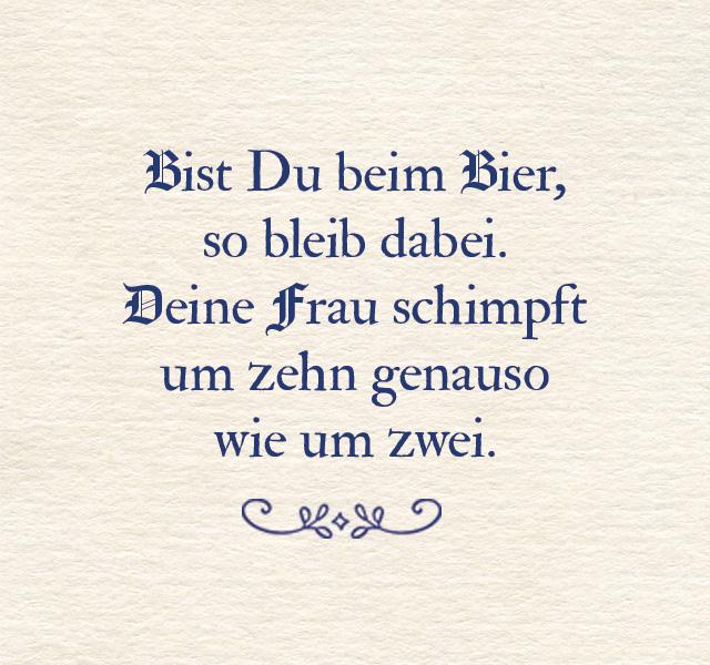 Bräustübl Zitat